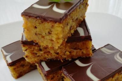 Mrkvový koláč s čokoládou - recept