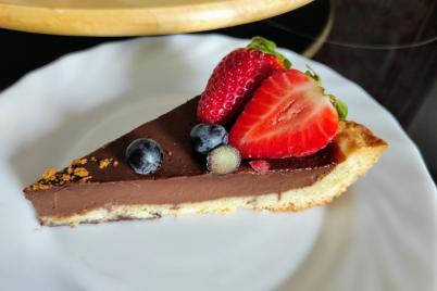 Francúzsky čokoládový tart (Tarte au Chocolat) - recept