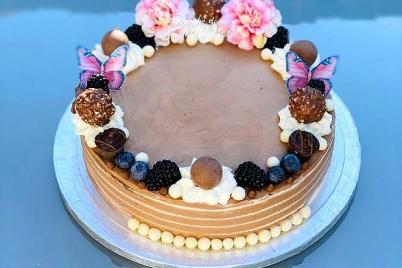 Čokoladová tortička  - recept