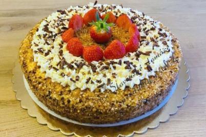 Šlahačková torta - recept