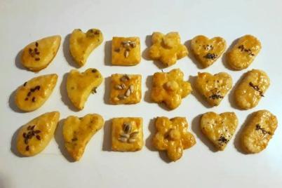 Slané syrové keksíky - recept