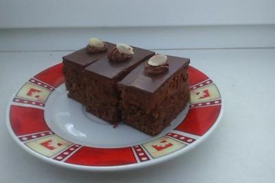 Čokoládovo-jahodový zákusok - recept