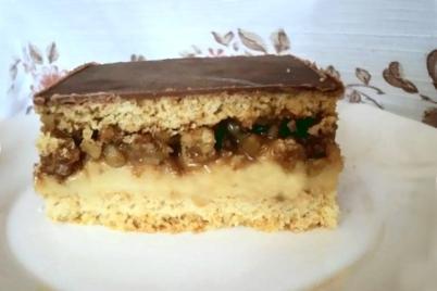 Snicers - recept