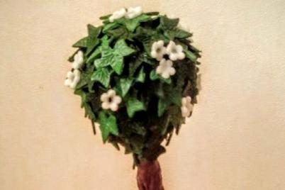 Listnatý strom - foto postup