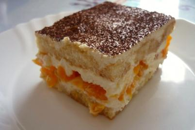 Tiramisu s mandarínkami - recept