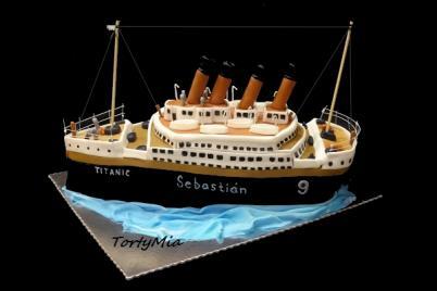 Titanic 3D - foto postup