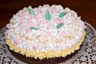 """Torta """"Oblíž prst"""" - recept"""