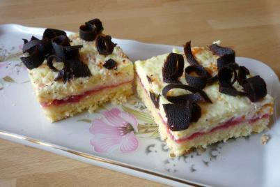 Trasený koláčik - recept