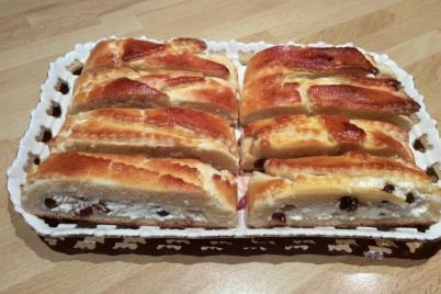 Fantastický tvarohový závin - recept