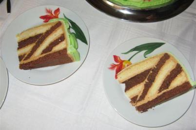 Prevratena torta - foto postup