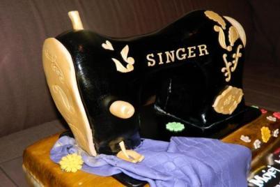 Fotopostup na šijací stroj - foto postup