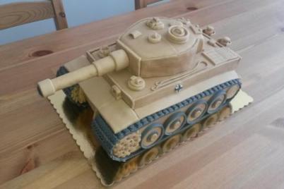 Tank 2 - foto postup