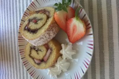 Piškótová roláda - recept